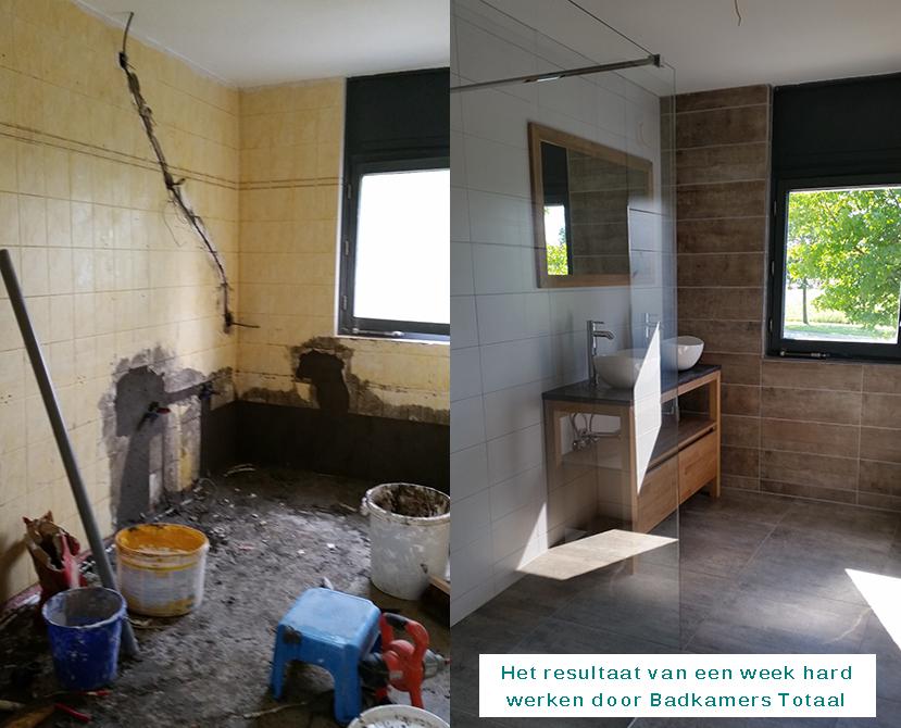 Badkamer vervangen - Badkamerstotaal.nl